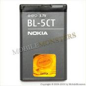 Akumulators Nokia 3720c Classic 1020 mAh Li-Ion BL-5CT