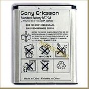 Battery Sony Ericsson C702i 950mAh Li-Ion BST-33