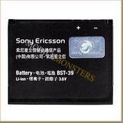 Akumulators Sony Ericsson T707 650mAh Li-Ion BST-39