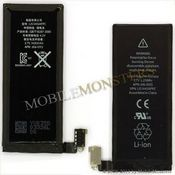 Akumulators iPhone 4 1420mAh Li-Ion P/n 616-0513