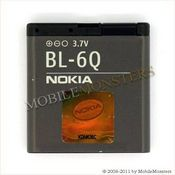 Akumulators Nokia 6700c Classic 970mAh Li-Ion BL-6Q