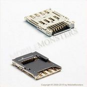 Connector LG D290 L Fino Sim card reader