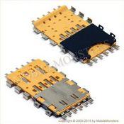 Konektors BlackBerry 9900 Sim kartes lasītājs