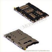 Konektors Sony E6653 Xperia Z5 Sim kartes lasītājs