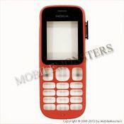 Korpuss Nokia 101 Priekšējais panelis Sarkans