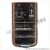 Korpuss Nokia 6700c Classic Baterijas vāciņš Brūns