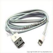 Data kabelis iPhone 5 (A1429) Kopija A kvalitāte Balta