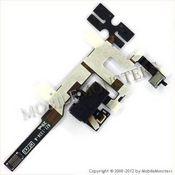 Šleife iPhone 4s Austiņu konektors Melns
