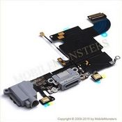 Šleife iPhone 6s (A1688) Sistēmas konektors Melns