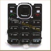 Tastatūra Nokia 5220 Xpress Music  Melnā