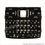 Tastatūra Nokia E72  Melnā