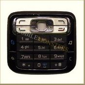 Tastatūra Nokia N73  Melnā