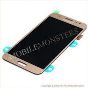 Displejs Samsung SM-J500F Galaxy J5 ar Skārienjūtīgo stiklu Zelts