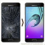 Samsung SM-A510F Galaxy A5 (2016) Displeja un stikla maiņa
