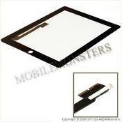 Skārienjūtīgais ekrāns iPad 3gen (A1430) Kopija A kvalitāte Melnā