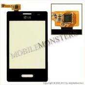 Skārienjūtīgais ekrāns LG E430 Optimus L3 II  Melns