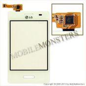 Skārienjūtīgais ekrāns LG E430 Optimus L3 II  Balts