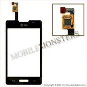 Touchscreen LG E440 Optimus L4 II  Black