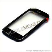 Skārienjūtīgais ekrāns Nokia 610 Lumia  ar ramiti Melns