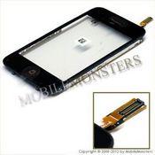 Skārienjūtīgais ekrāns iPhone 3g Kopija, ar rāmīti