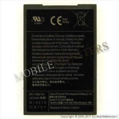 Akumulators BlackBerry 9000 1550mAh Li-Pol M-S1