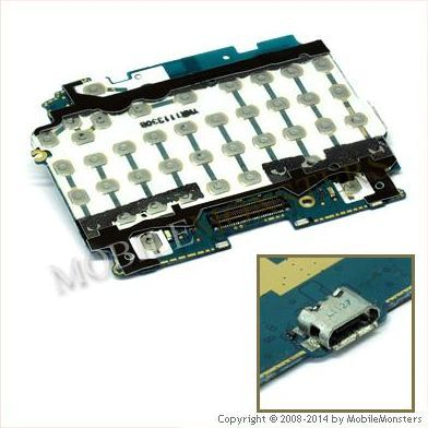Tastatūras plate HTC ChaCha USB konnektors