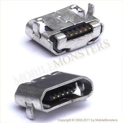 Konektors BlackBerry Passport USB konnektors