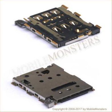 Connector BlackBerry Q20 Classic Sim card reader