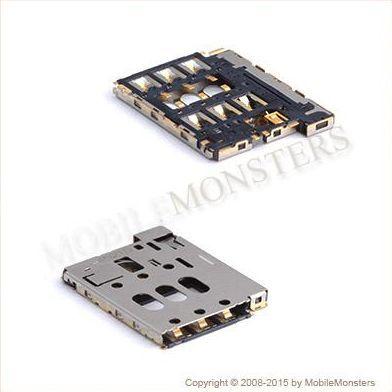 Konektors HTC Desire 816  Sim kartes lasītājs