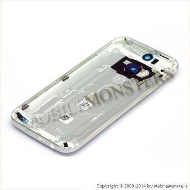 Korpuss HTC One M8 mini 2  Baterijas vāciņš Sudrabs