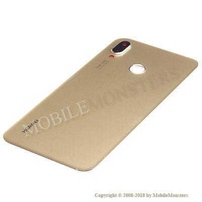 Korpuss Huawei P20 Lite (ANE-LX1) Baterijas vāciņš Zelts