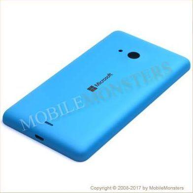 Korpuss Microsoft 535 Lumia Baterijas vāciņš Gaiši zils
