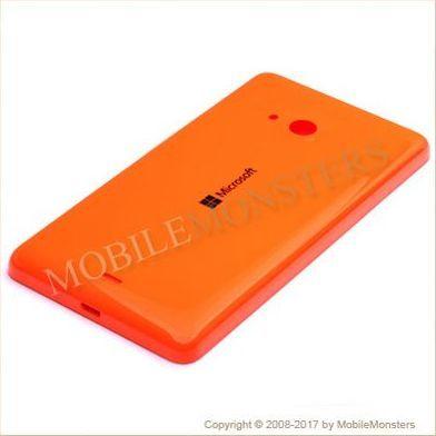 Korpuss Microsoft 535 Lumia Baterijas vāciņš Oranžs
