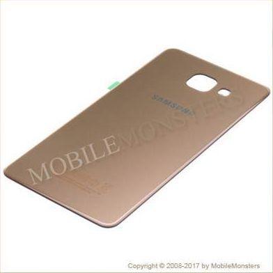 Korpuss Samsung SM-A510F Galaxy A5 (2016) Baterijas vāciņš Zelts