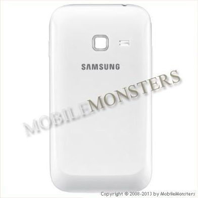 Cover Samsung S6802 Galaxy Ace Duos Battery cover White