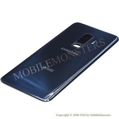 Korpuss Samsung SM-G965F Galaxy S9+ Baterijas vāciņš Zils