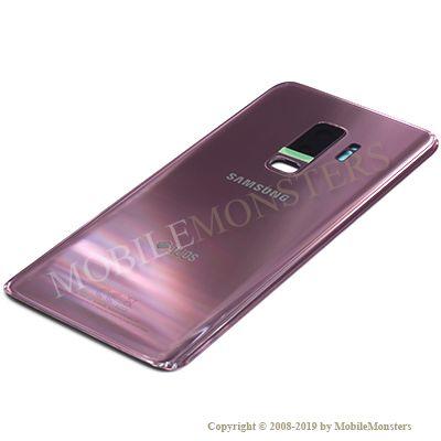 Korpuss Samsung SM-G965F Galaxy S9+ Baterijas vāciņš Violets