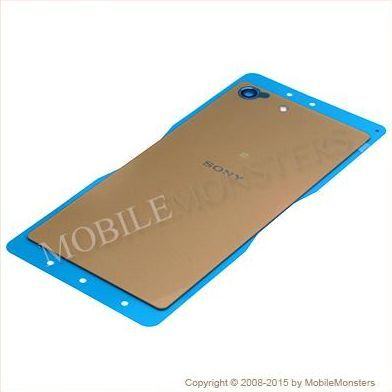 Korpuss Sony E5603 Xperia M5 Baterijas vāciņš Zelts