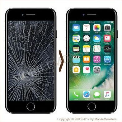 new style d604c 46b0c iPhone 7 LCD and screen replacement