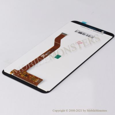 Displejs Asus Zenfone Max Pro (M1) ar Skārienjūtīgo stiklu Melns