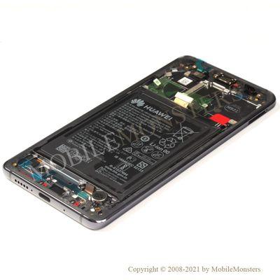 Дисплей Huawei Mate 10 Pro (BLA-L29) с Тачскрином, стеклом и рамкой, с аккумулятором Серый