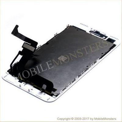 Displejs iPhone 7 Plus (A1784) ar Skārienjūtīgo stiklu un apkart ramiti *Atjaunots* Balts