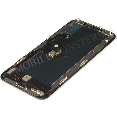 Displejs iPhone XS Kopija HQ, ar Skārienjūtīgo stiklu un apkart ramiti Melns