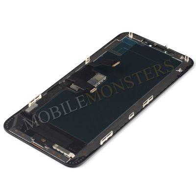 Displejs iPhone XS Max Kopija HQ, ar Skārienjūtīgo stiklu un apkart ramiti Melns