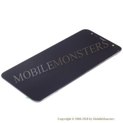 Displejs Samsung SM-J415F Galaxy J4+ ar Skārienjūtīgo stiklu Melns