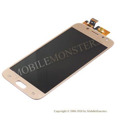Displejs Samsung SM-J530F Galaxy J5 (2017) Kopija OLED kvalitāte Zelta