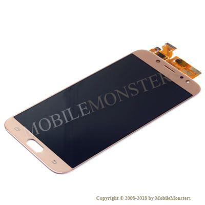 Displejs Samsung SM-J730F Galaxy J7 (2017) Kopija OLED kvalitāte Zelta