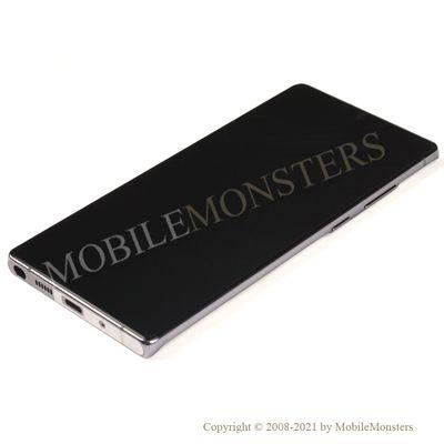 Дисплей Samsung SM-N980F Galaxy Note 20 с Тачскрином, стеклом и рамкой Серый