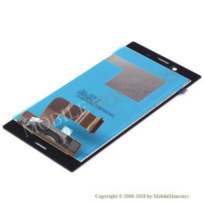 Displejs Sony F5321 Xperia X Compact ar Skārienjūtīgo stiklu Melns
