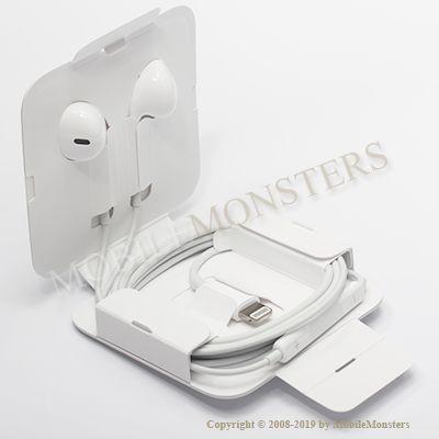 Austiņas iPhone 8  Balts Apple Lightning MMTN2ZM/A